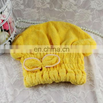 New Products HIgh Quality Coral Fleece Dry Hair Cap