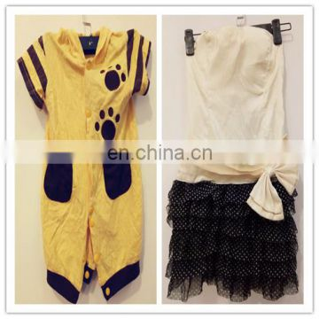 First class wholesale used baby jumpsuit and dress type