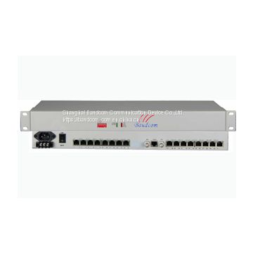 G.703 E1 to 31 channel RS232 converter