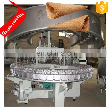 Ice Cream Machinery Semi Automatic Rolled Sugar Cone Baking Machine