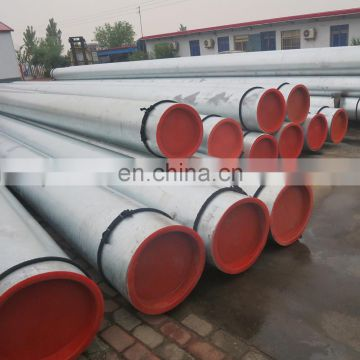 bs 1387 8m 60mm length scaffolding galvanized steel air duct tube pipe