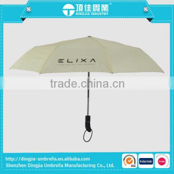 High Quality Fully Automatic Umbrella 3 Fold Auto Open/Close Umbrella Rainproof with Retail Package                                                                         Quality Choice