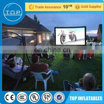 New design projector outdoor advertising screen made in China