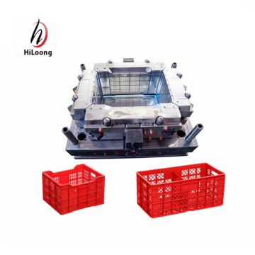 taizhou mould maker plastic crate injection mould