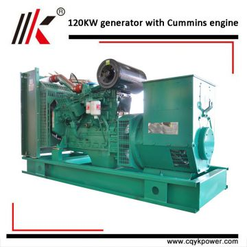 High efficiency DCEC 120kw 150kva diesel engine generator