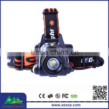 Outdoor 1200LM 1xCREE XML T6 Rechargeable LED Headlamp Manufacturers