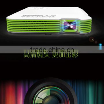 Portable Laser/LED DLP Data with Wifi bluetooth Miracast function Home Theater Projector