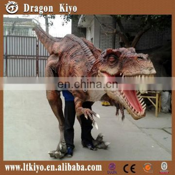 2014 Newest Realistic Walking Dinosaur Costume