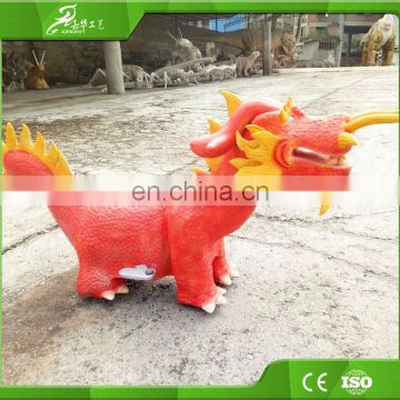 KAWAH Artificial Animatronic Coin Operated Kiddie Rides For Sale