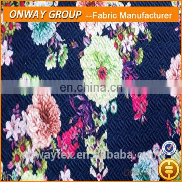 jacquard mattress fabric used jacquard loom high quality knitted print jacquard fabric