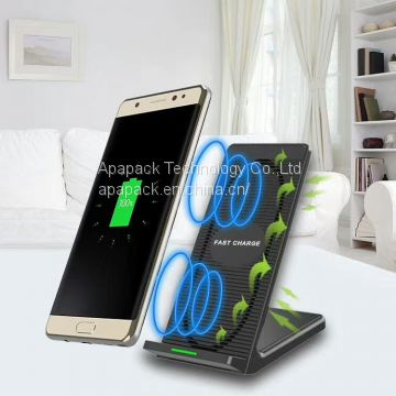 cellphone mount wireless fast charger with coolling fan