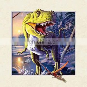 Different style 5d modern wall decoration lenticular picture