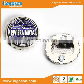 RIVIERA MAYA souvenir gifts beer cap shape fridge magnet bottle opener