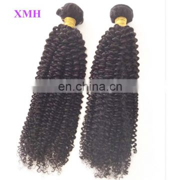 New Arrival! Afro Kinky Curly Human Hair Weft Extension for Black Women