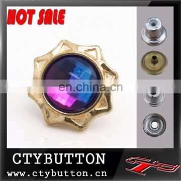 CTY-DP(60) hot sale crystal buttons furniture rhinestone buttons