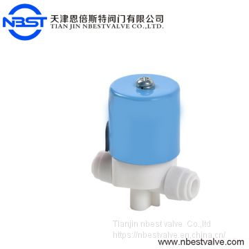 WS3 Plastic Solenoid Valve normally closd /normally open for RO system 2way