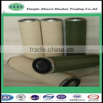 Polyester material glass fiber natural gas coalescence filter used for chemical industry