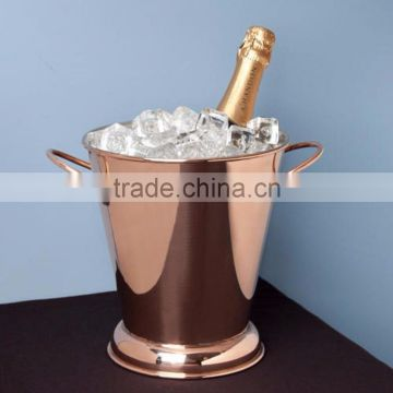 copper shiny finished classice wholsale wine bucket