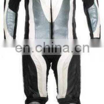 Leather Motorbike Racing Suit (L-S 010)