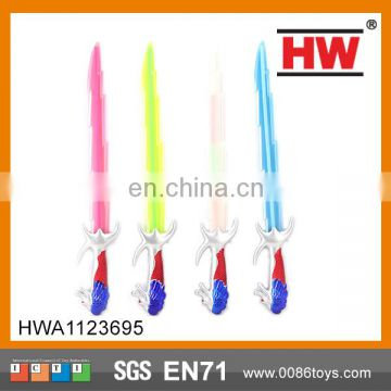 63.5 CM musical flashing light led sword