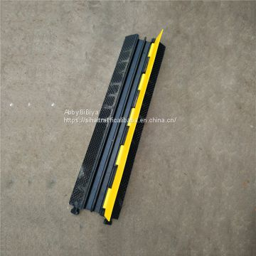 3 Channel Waterproof Cable Protector Rubber Speed Bump