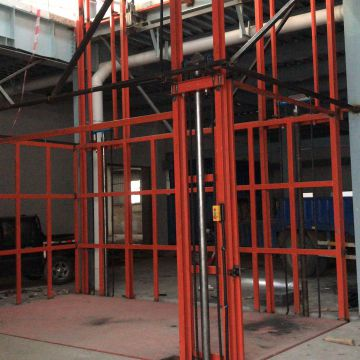 Industrial Plants Hydraulic Freight Elevator Industrial Goods Lift