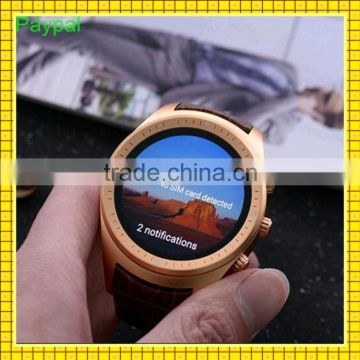 GPS Android 4.4 sports monitor paypal accept most popular K18 smart watch 3g                                                                         Quality Choice