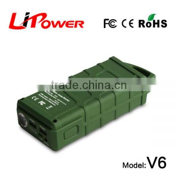 mini size 14000mAh 12v rc car battery power bank 3 in 1 power station with clips