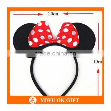 Minnie Mouse Headband Cute Mickey Costume Dress-Up Ears Headband For Sale