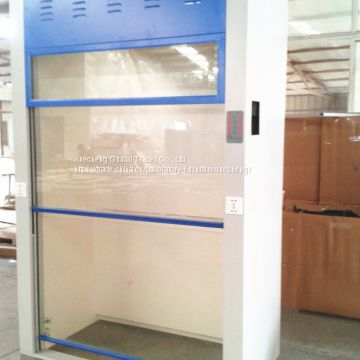 Steel Laboratory furniture Floor Mounted Lab Fume Hood 1800*850*2350mm