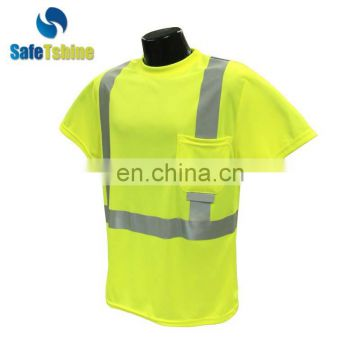 Cheap hot sale top quality reflective new design cheap shirt factory