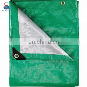 Heavy duty transparent waterproof roll reflective tarpaulin