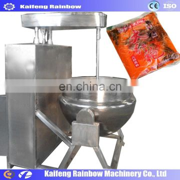 High quality and big capacity Electric peanut butter / chili sauce making machine