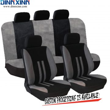 DinnXinn Cadillac 9 pcs full set Jacquard waterproof dog car seat covers supplier China