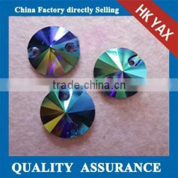 Wholesale High Quality Round Sew on Stone, China Sew on Stone, Sew on Stone Glass