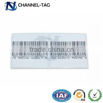 photograph relating to Printable Clothing Labels named Channeltag EAS sq. printable basic safety outfits labels and