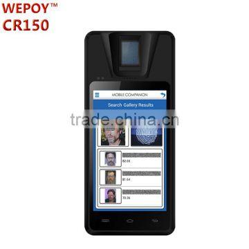 Android WIFI 3G NFC FBI PIV biometric morpho fingerprint scanner
