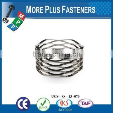 Made in Taiwan high quality stainless steel wave spring wave spring lock washer Wave spring washer