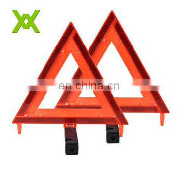 Car triangle warning sign E-Mark CE Safety Reflective Traffic Warning Triangle For Emergency