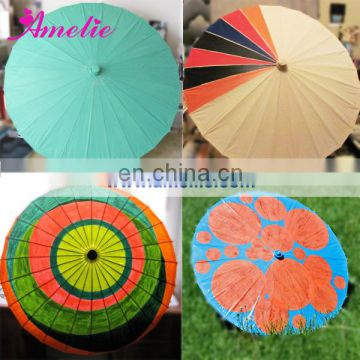 A6281 Lovely printed paper umbrellas