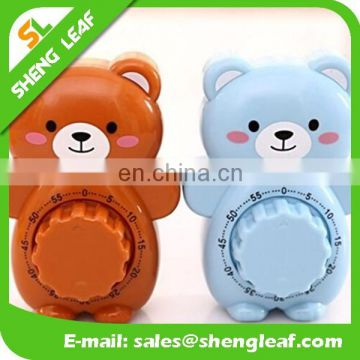 60 minutes time For the kitchen Creative cute teddy bear cartoon small alarm clock