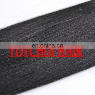 Yaki Straight Weaving Hair,Italian Yaki Wave Texture Human Hair