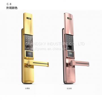C8-Fingerprint lock