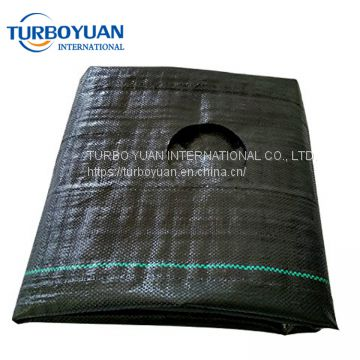 UV resistant anti root Grass control fabric cloth / PP or PE weed barrier mat