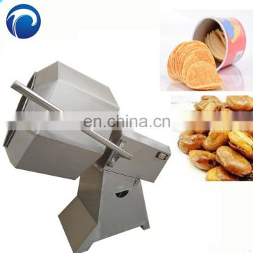 Octagonal snack food flavoring machine potato chips seasoning machine