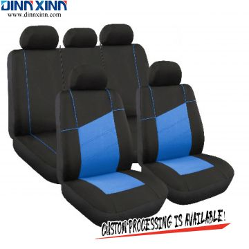 DinnXinn Lincoln 9 pcs full set Polyester car seat cover universal supplier China
