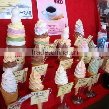 High quality mini type small table top soft serve ice cream machine