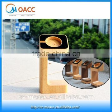 2015 new wooden stand for apple watch 38mm / 42mm