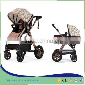China OEM baby buggy stroller foldable four wheels baby doll pram stroller wholesale doll stroller with shock