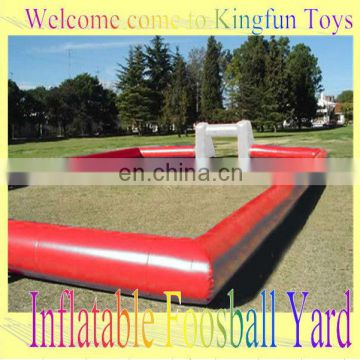 Inflatable football field/inflatable soccer curt for outdoor enent